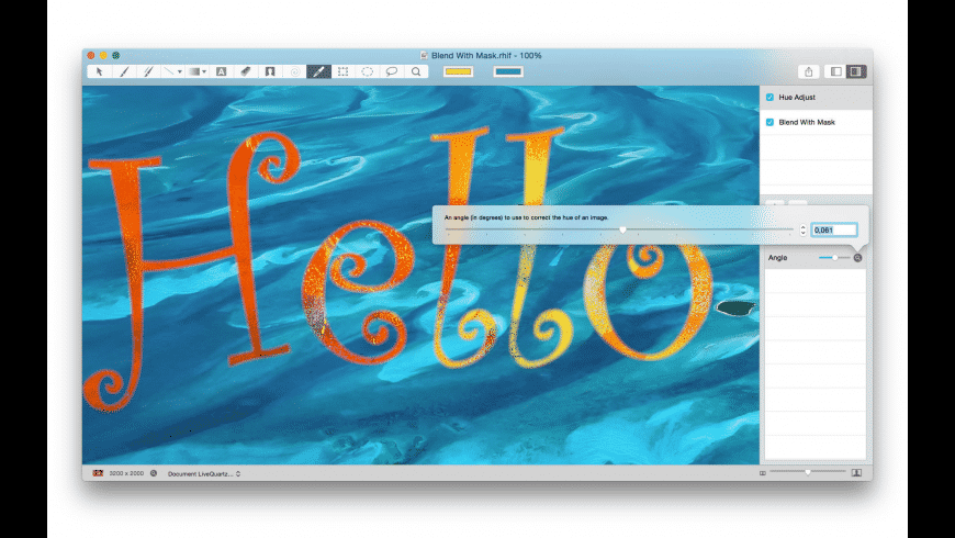 LiveQuartz Photo for Mac - review, screenshots