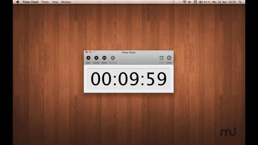 Timer Clock for Mac - review, screenshots