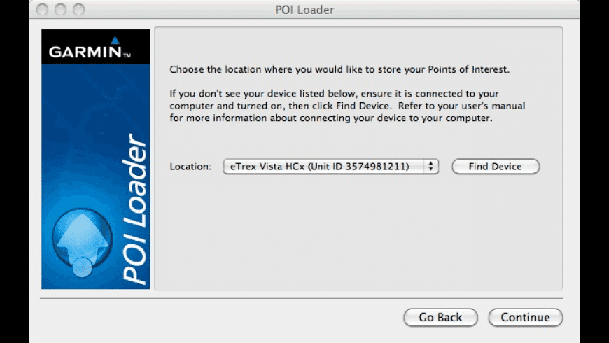 Garmin POI Loader for Mac - review, screenshots