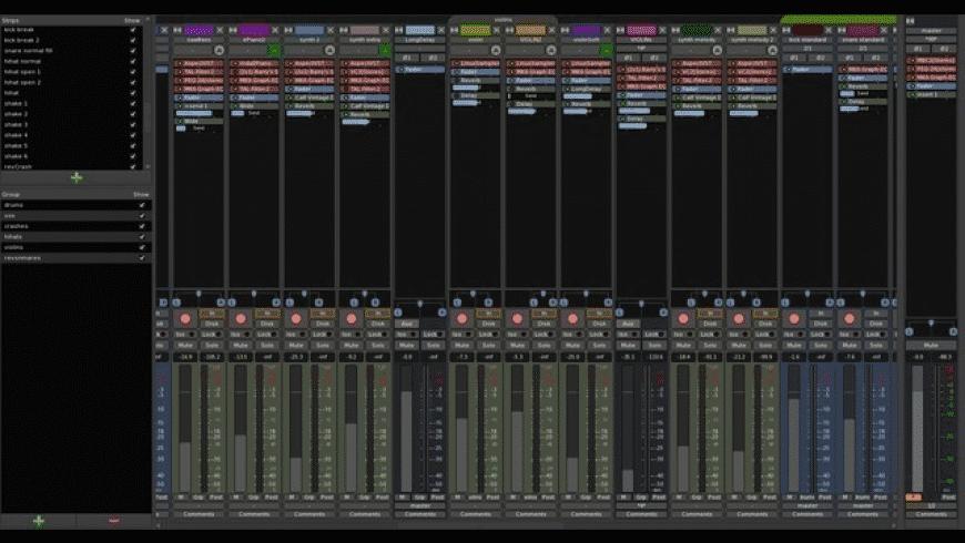 Ardour for Mac - review, screenshots