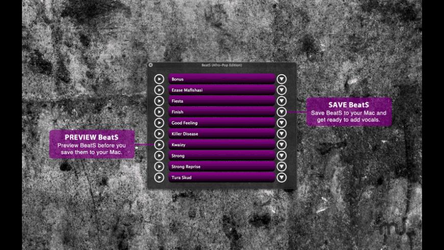 BeatS (Afro-Pop/Kwaito Edition) for Mac - review, screenshots