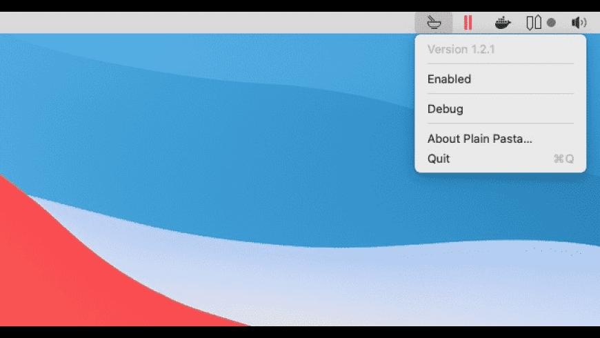Plain Pasta for Mac - review, screenshots