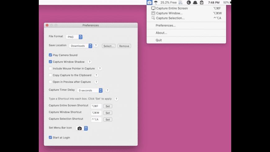 Menu Snappr II for Mac - review, screenshots