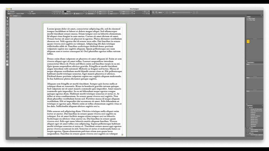 VivaDesigner for Mac - review, screenshots