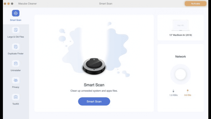 Macube Cleaner for Mac - review, screenshots
