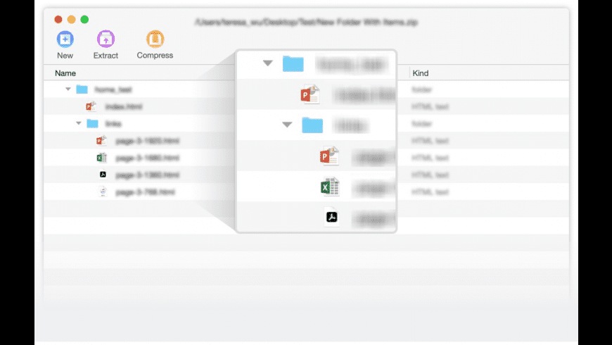 Unarchiver One for Mac - review, screenshots