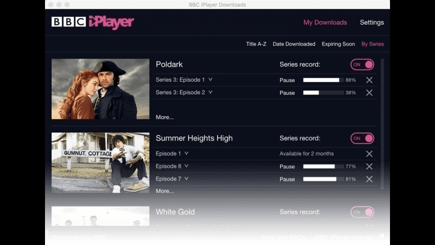 BBC iPlayer for Mac - review, screenshots