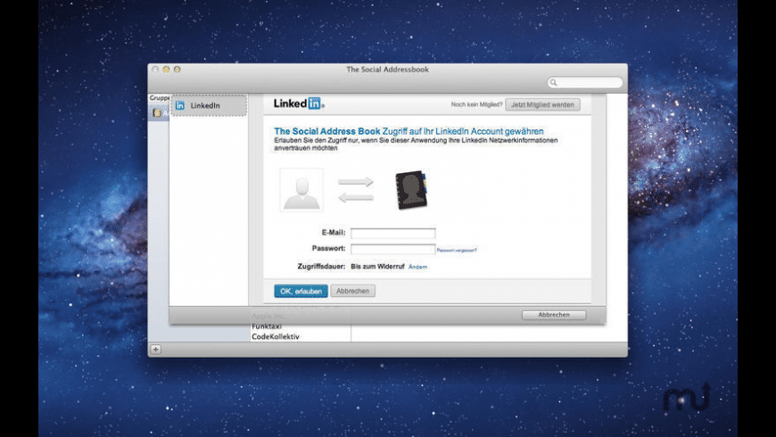 The Social Address Book for Mac - review, screenshots