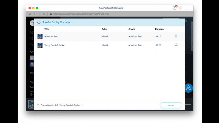 TunePat Spotify Converter for Mac - review, screenshots