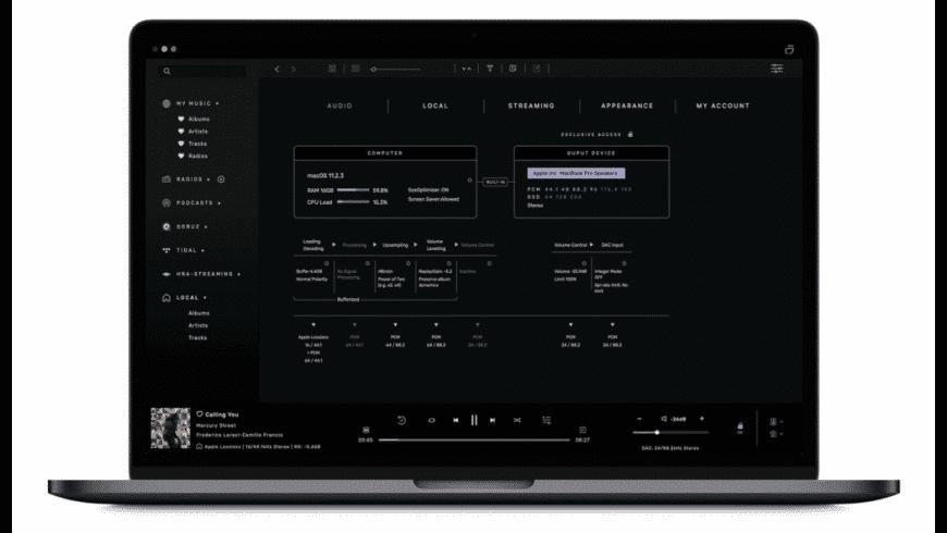 Audirvana Studio for Mac - review, screenshots