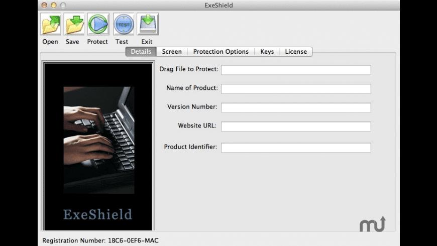 ExeShield for Mac - review, screenshots