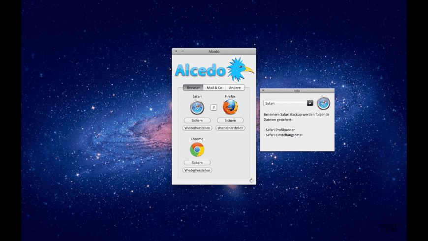 Alcedo for Mac - review, screenshots