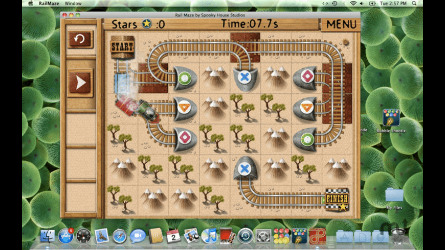 Rail Maze for Mac - review, screenshots