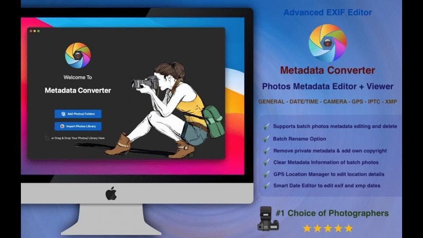 Metadata Converter for Mac - review, screenshots