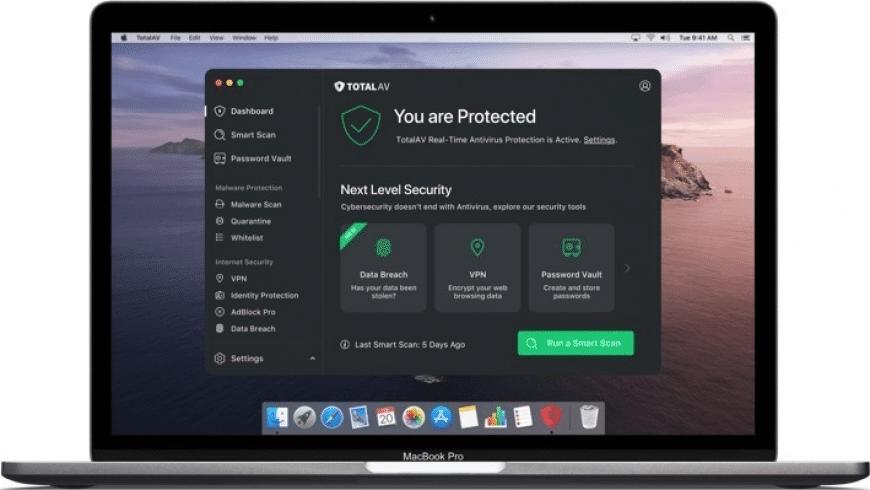 TotalAV for Mac - review, screenshots