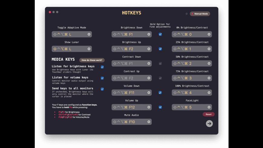 Lunar for Mac - review, screenshots