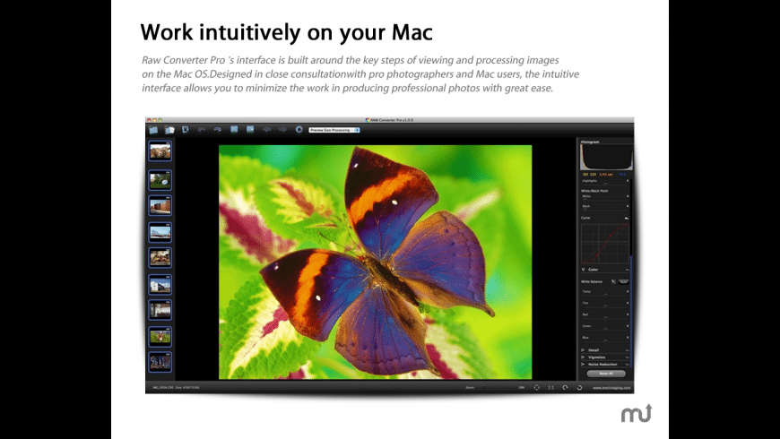 Raw Converter Pro for Mac - review, screenshots