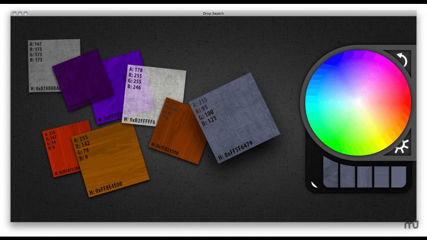 Drop Swatch for Mac - review, screenshots