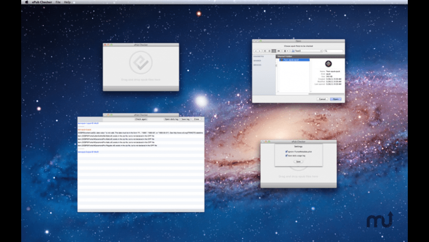 ePub Checker for Mac - review, screenshots