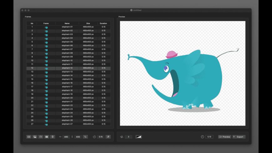 PNG Animator for Mac - review, screenshots