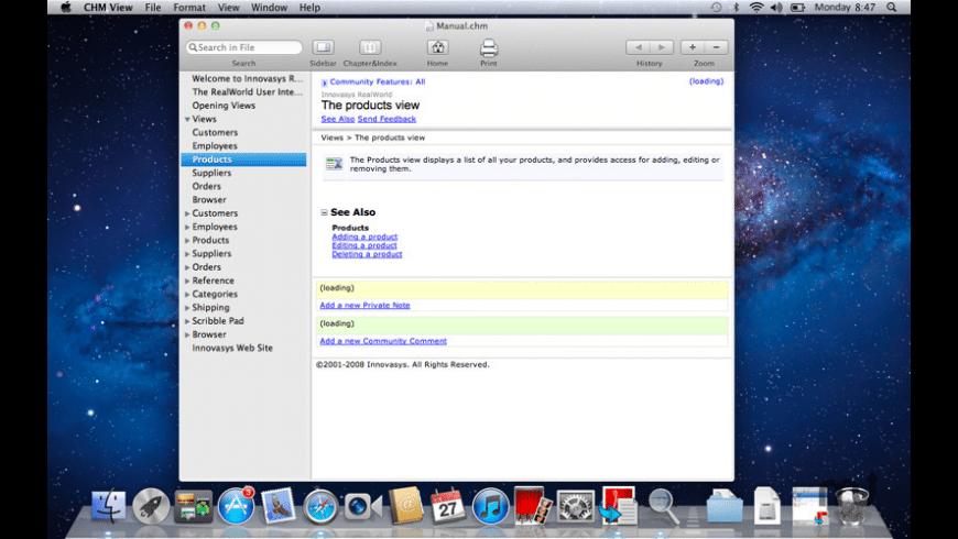 CHM View for Mac - review, screenshots