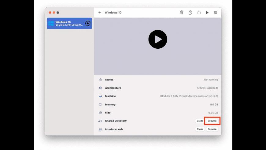 UTM for Mac - review, screenshots