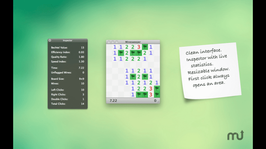 Minesweeper 101 for Mac - review, screenshots