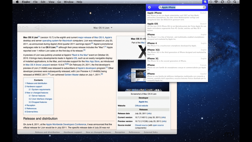 WikiBuddy for Mac - review, screenshots
