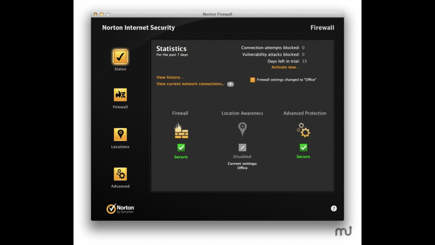 Norton Internet Security for Mac - review, screenshots