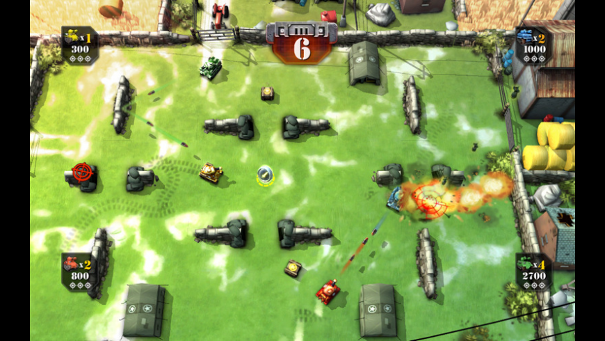 Tank Battles for Mac - review, screenshots