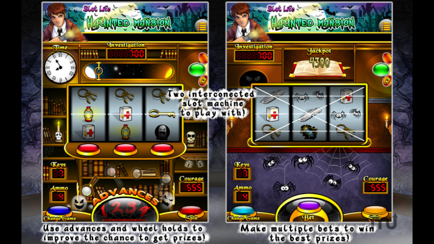 Slot Life - Haunted Mansion for Mac - review, screenshots