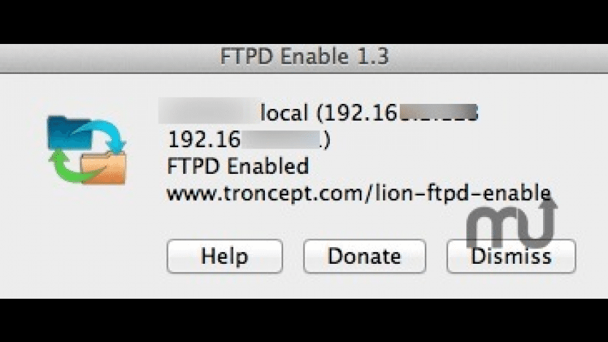 Lion FTPD Enable for Mac - review, screenshots