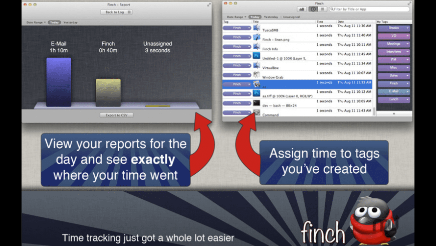 Finch for Mac - review, screenshots