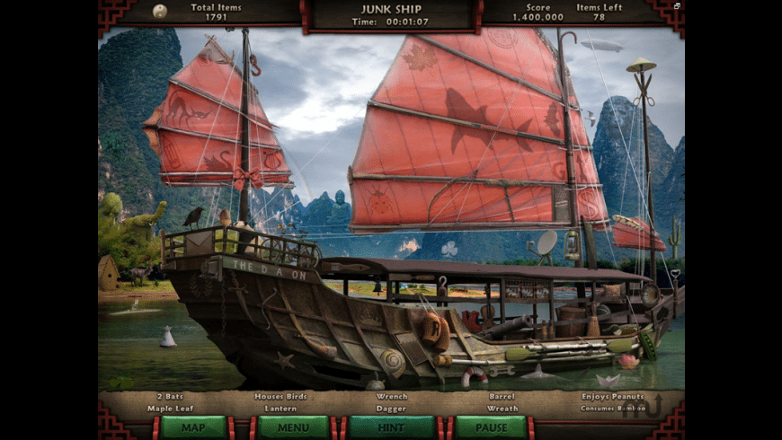 Amazing Adventures: The Forgotten Dynasty for Mac - review, screenshots