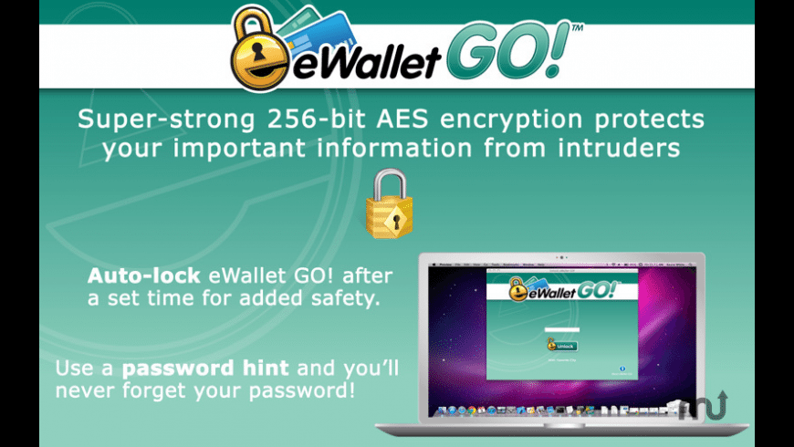 eWallet GO! for Mac - review, screenshots