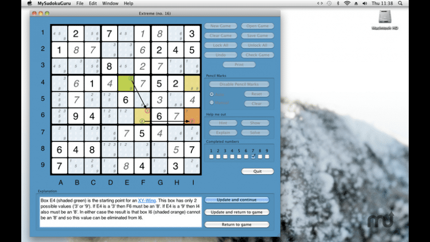 MySudokuGuru for Mac - review, screenshots