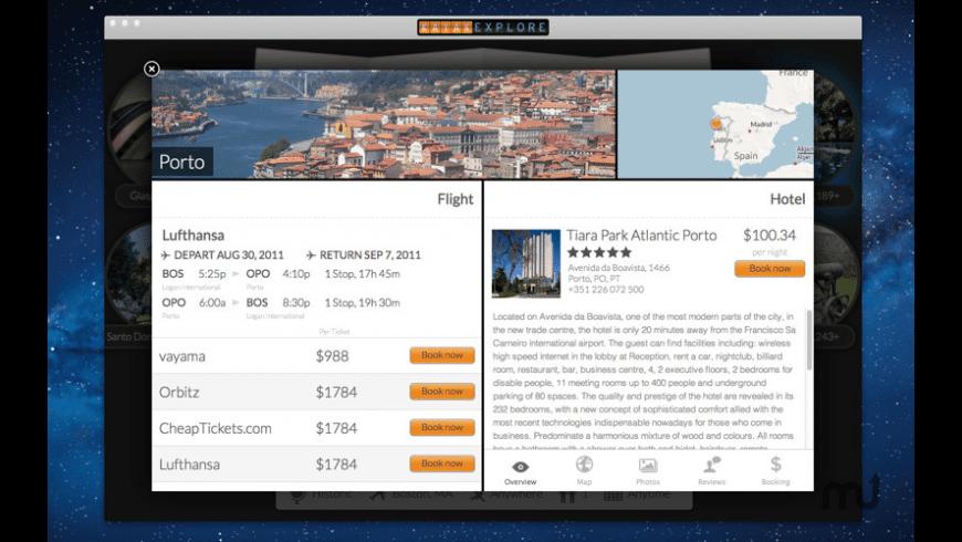 KAYAK Explore for Mac - review, screenshots
