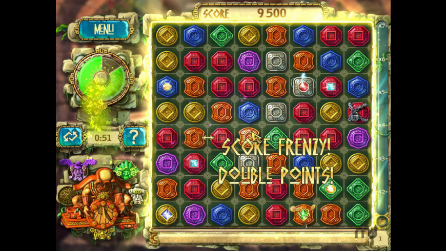 The Treasures Of Montezuma 3 for Mac - review, screenshots