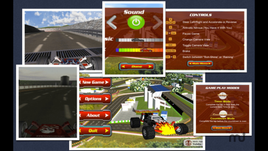 Circuit Racer for Mac - review, screenshots