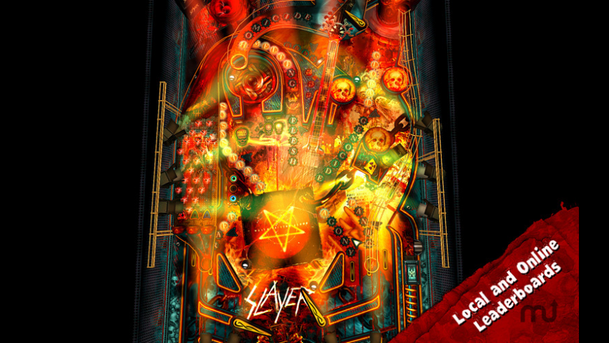 Slayer Pinball Rocks HD for Mac - review, screenshots