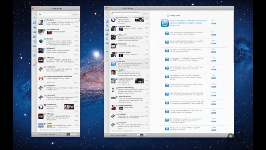 Life Stream for Mac - review, screenshots