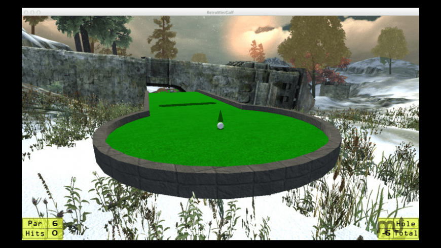RetroMiniGolf for Mac - review, screenshots