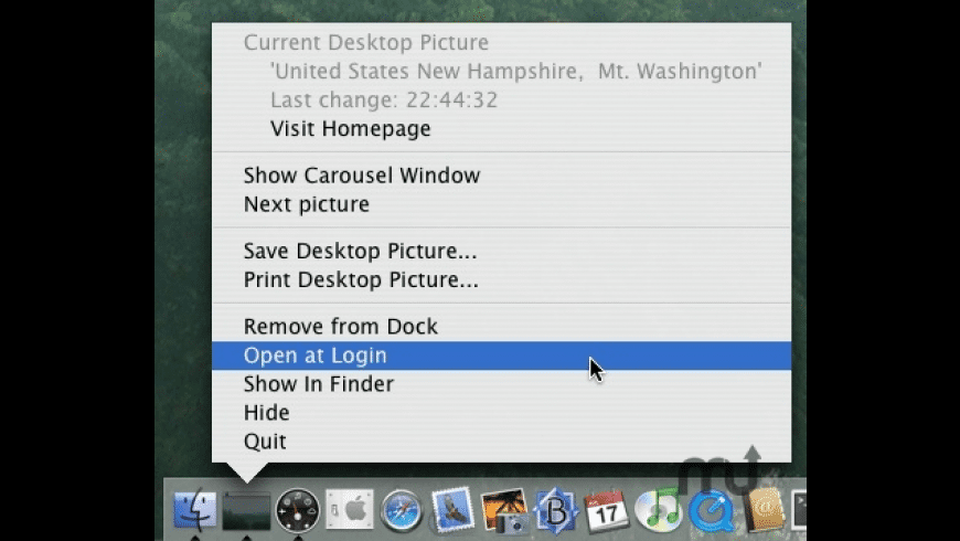 Desktop Carousel for Mac - review, screenshots