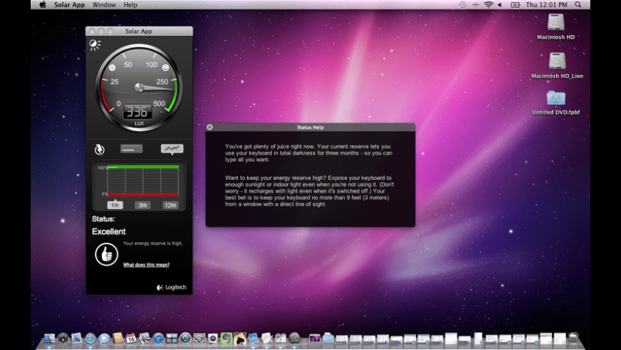 Solar App for Mac - review, screenshots