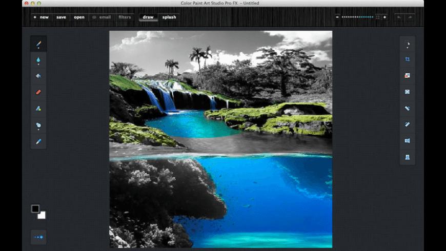 Color Paint Art Studio Pro FX for Mac - review, screenshots