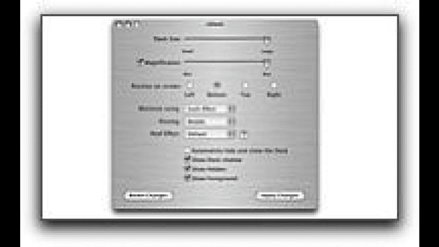 xDock for Mac - review, screenshots