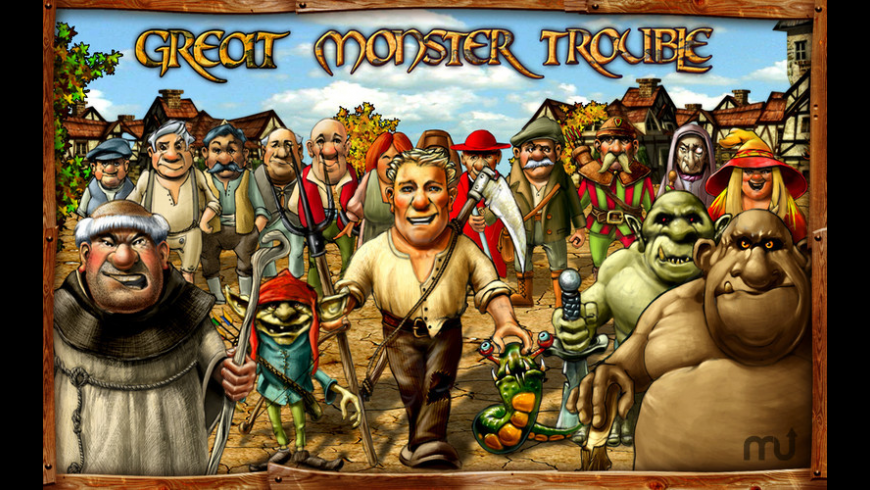 Great Monster Trouble for Mac - review, screenshots