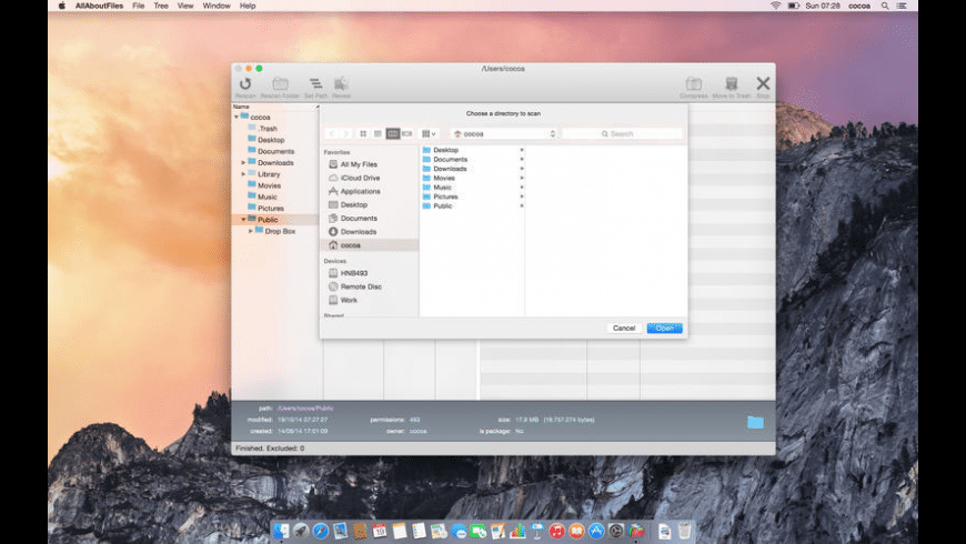 AllAboutFiles for Mac - review, screenshots