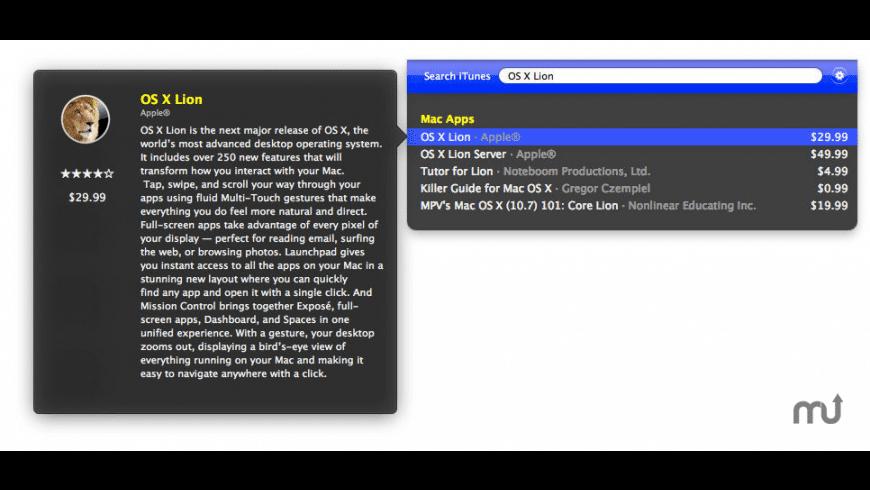 Tunesque for Mac - review, screenshots