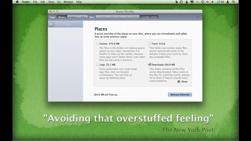 Broom for Mac - review, screenshots